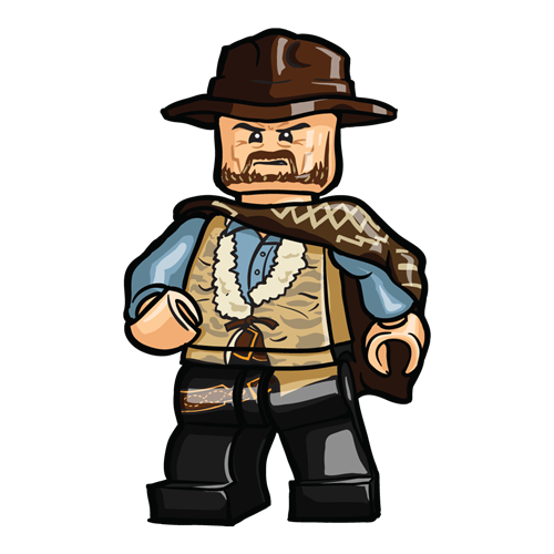 The Good The Bad And The Ugly Minifigure Set Custom