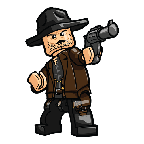 additional image for The Good, The Bad, and The Ugly Minifigure set