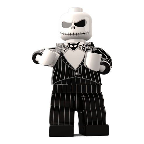 Jack Skellington Custom LEGO Minifigure