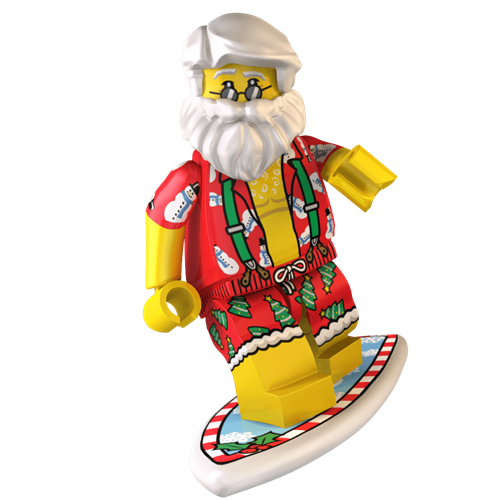 additional image for Surfin' Santa