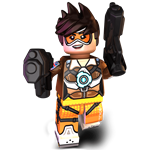 Game character minifigure