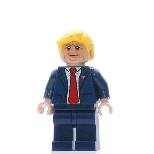 Donald Trump - 45th US President - Custom LEGO Minifigure