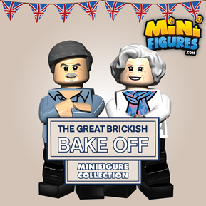The Great Brickish Bake Off Collection minifigure