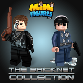 The Bricknet Collection minifigure