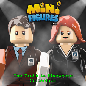 The Truth is Elsewhere Collection minifigure