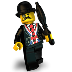 Chester minifigure