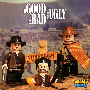 The Good, The Bad, and The Ugly Collection minifigure