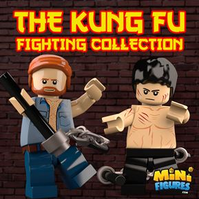 The Kung-Fu Fighting Collection minifigure