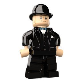 Winston Churchill minifigure