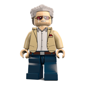 Stan Lee minifigure
