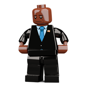 Barack Obama minifigure