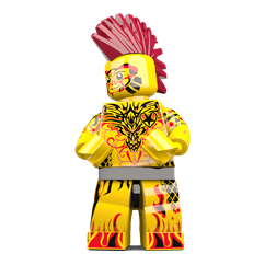 Mr Inkcredible minifigure