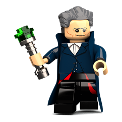 The 12th Traveller minifigure