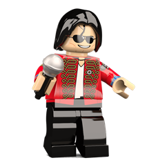 King of Pop minifigure