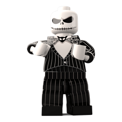 Pumpkin King minifigure