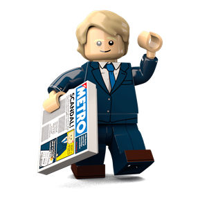 Boris Johnson minifigure