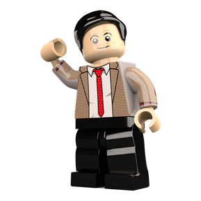 Mr Bean minifigure