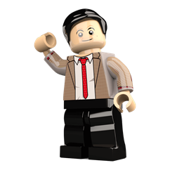 Mr. Calamity minifigure