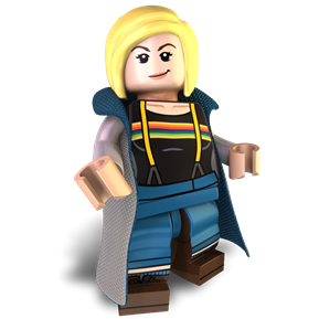 The 13th Doctor minifigure