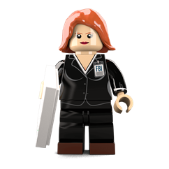 Agent Mully minifigure