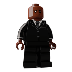 Martin Luther King Jr minifigure