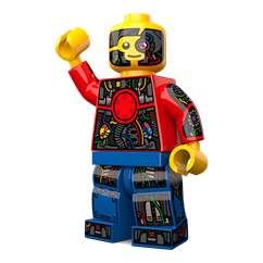 Short Circuit minifigure