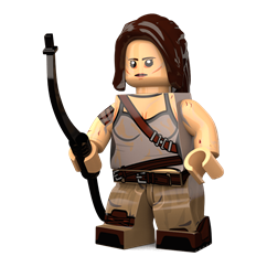 Lara Croft minifigure