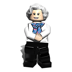 Mary Berry minifigure