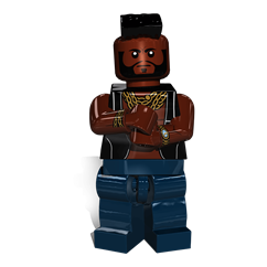 Mr T minifigure