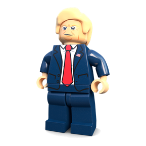 Donald Trump minifigure