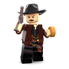 The Bad minifigure