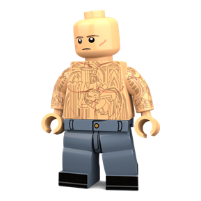 Prison Architect minifigure