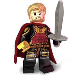 The Kingslayer minifigure
