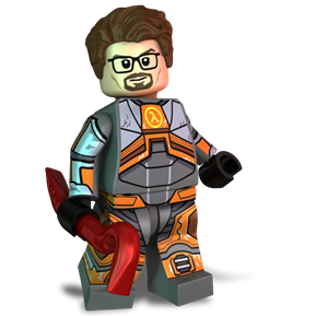 Gordon Freeman minifigure