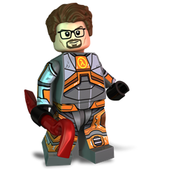 The Silent Scientist minifigure