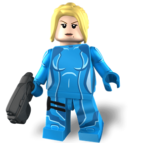 Galactic Headhunter minifigure