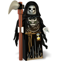 The Grim Reaper minifigure