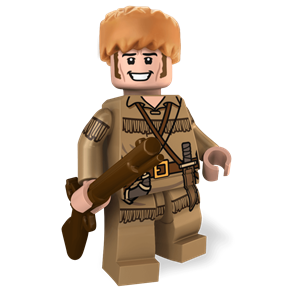 Davy Crockett minifigure