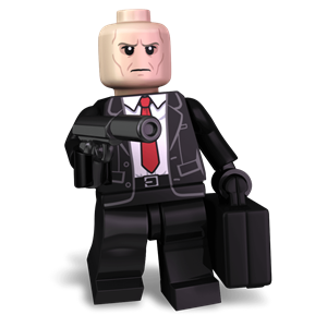 Brickman 47 minifigure