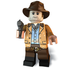 The Redeemed Outlaw minifigure