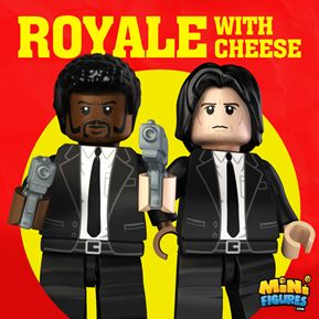 Royale with Cheese Collection minifigure