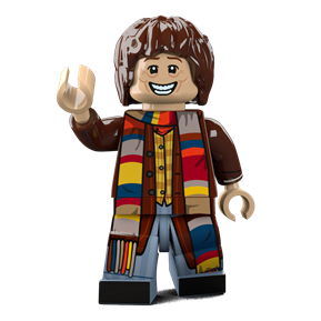 Tom Baker minifigure